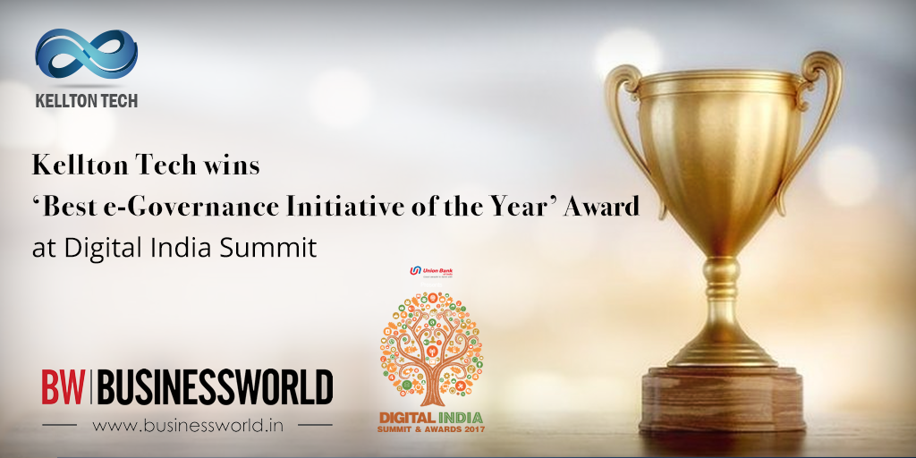 Best e-Governance Initiative of the Year' at Digital India Summit