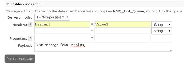 RabbitMQ Webmethods Integration 1
