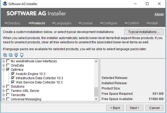 Software AG Installation