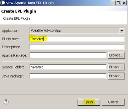 Software AG's Apama Integration 10