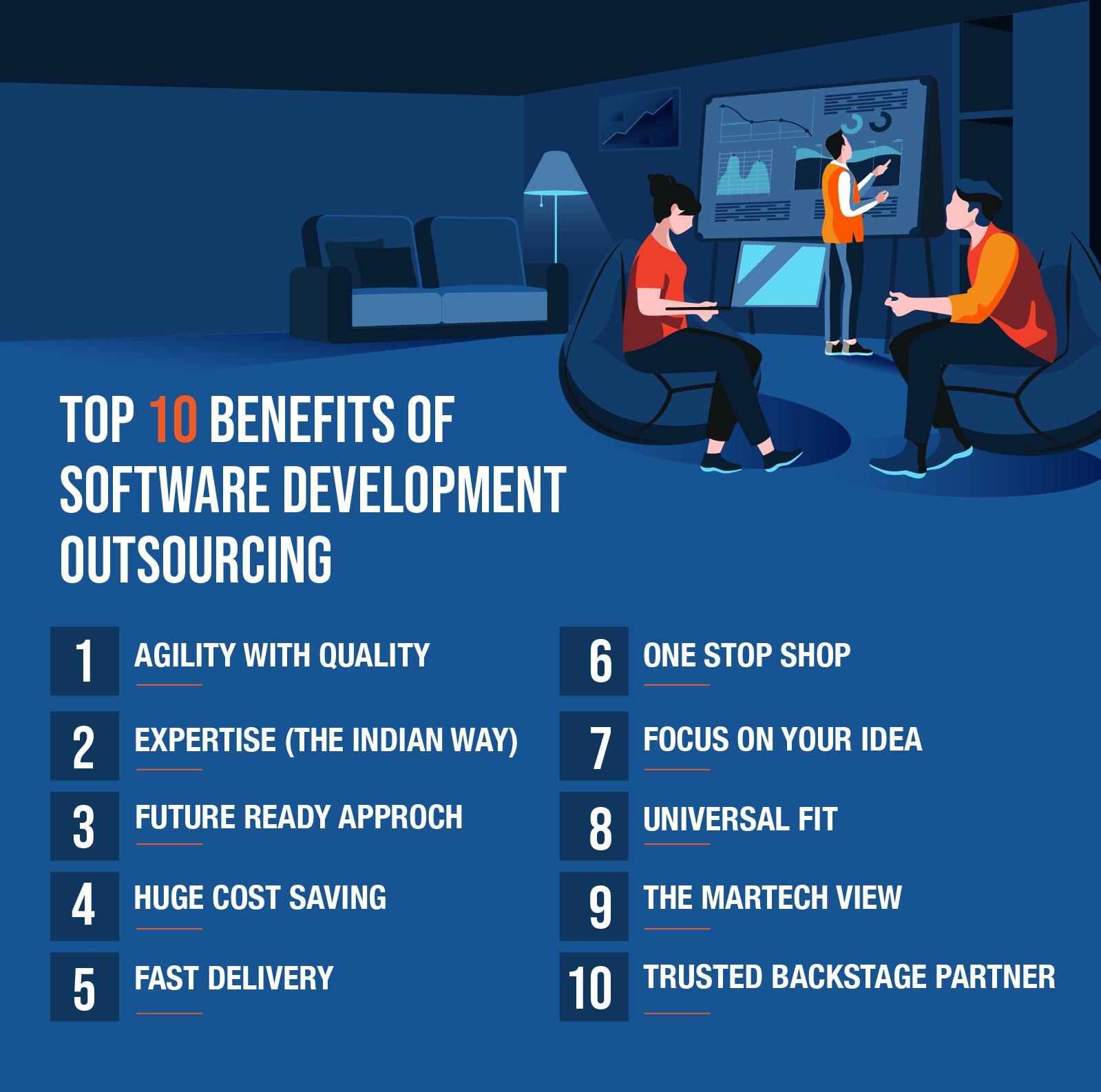 pros of Software Development Outsourcing