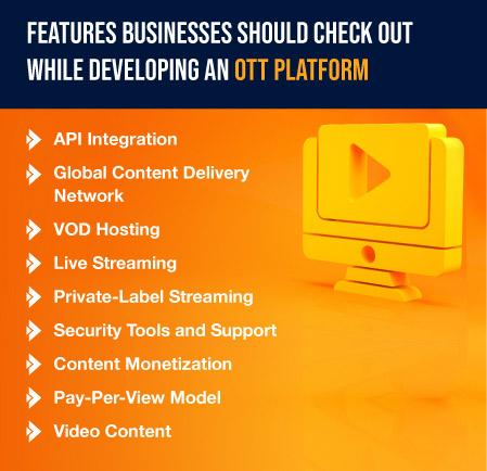 OTT platform development